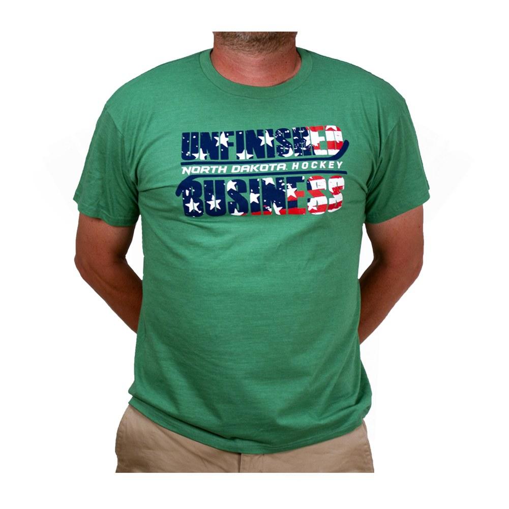 North Dakota Old Town Font T-shirt