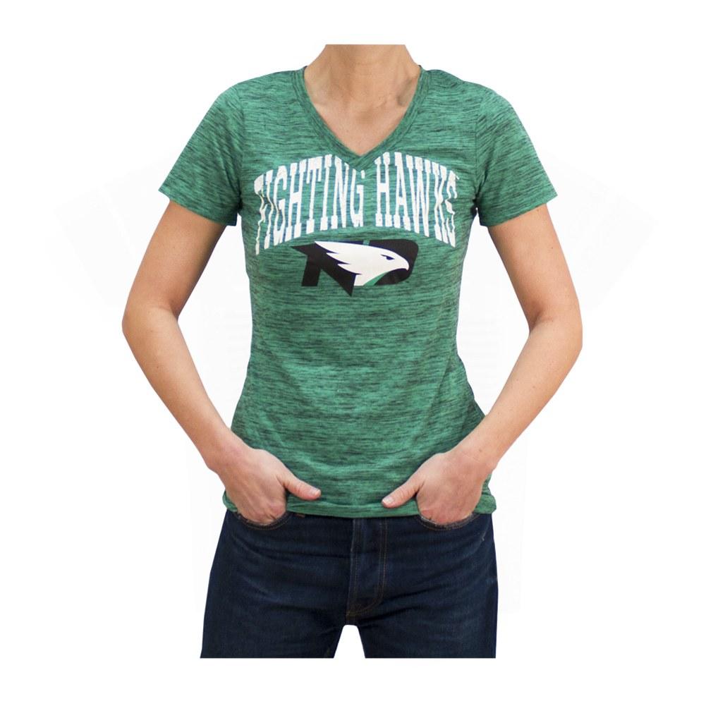 University of North Dakota Fighting Hawks NCAA Athletic Tee T-Shirt Kelly