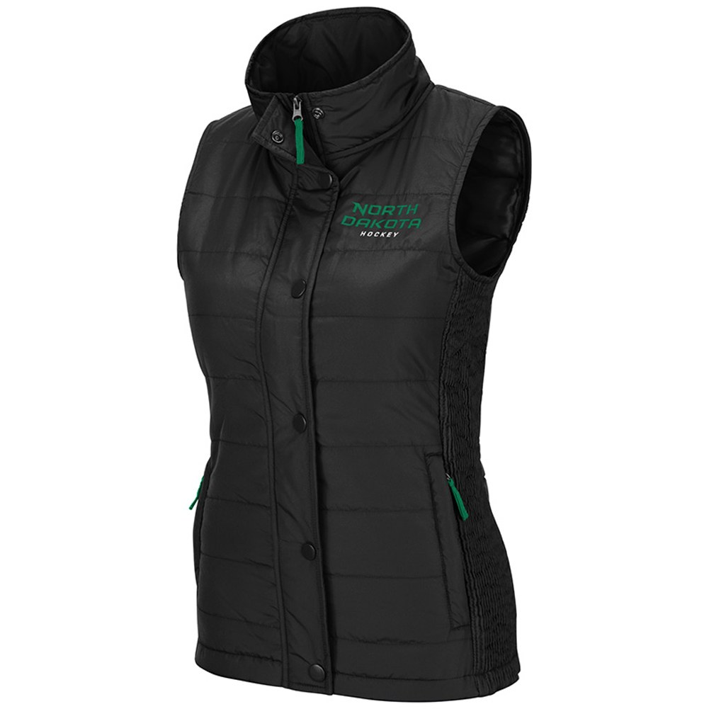NORTH DAKOTA HOCKEY STARLA PUFF VEST