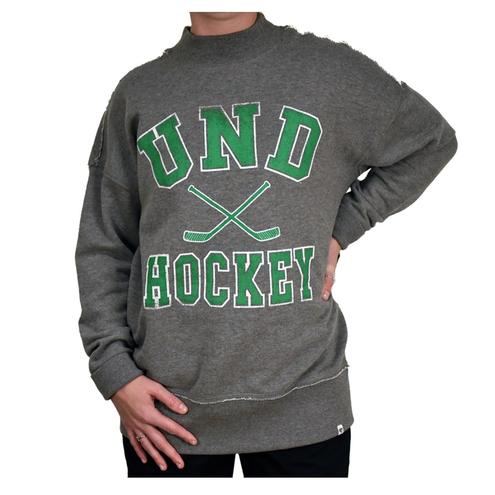UNIVERSITY OF NORTH DAKOTA HOCKEY SASHA MOCK CREWNECK