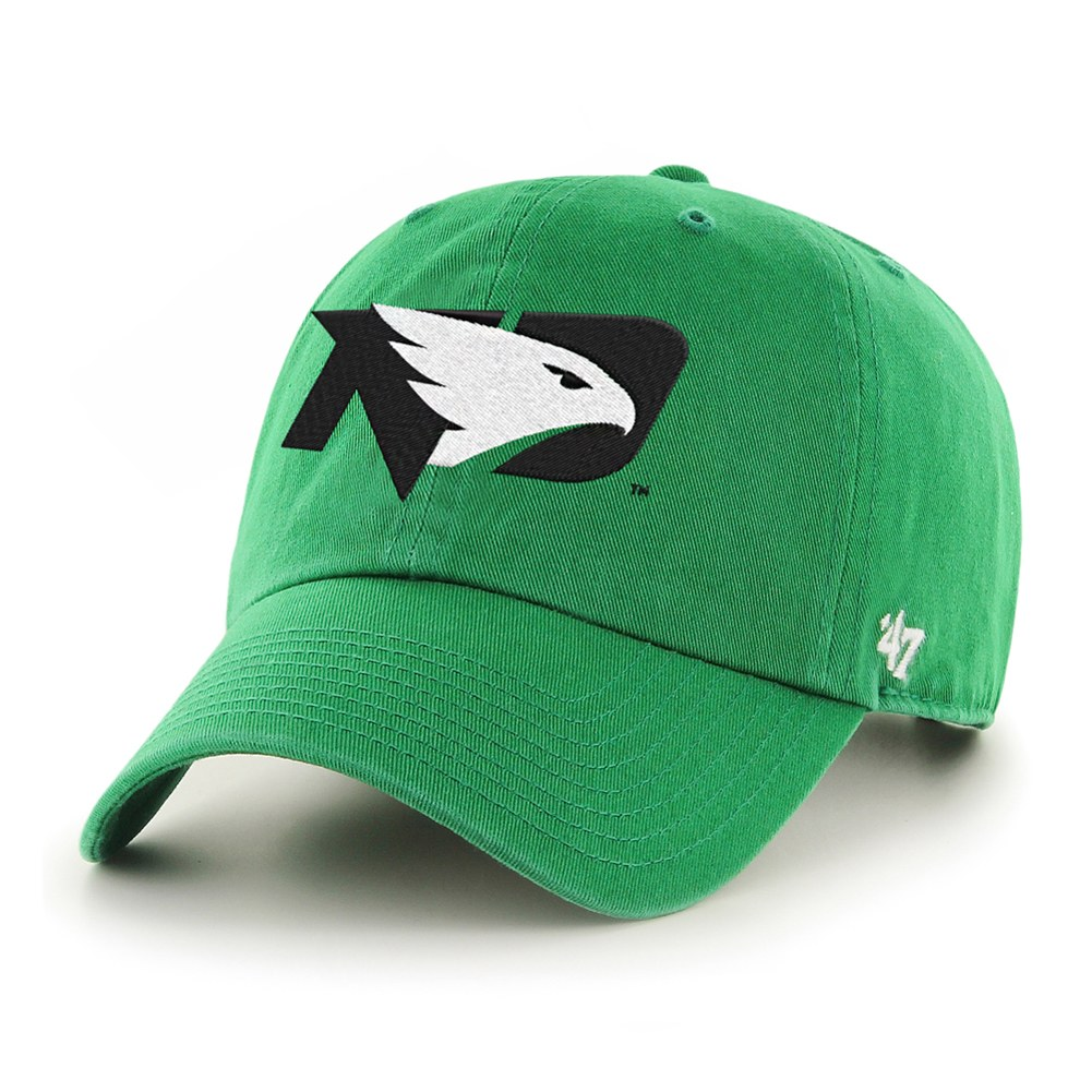 UNIVERSITY OF NORTH DAKOTA FIGHTING HAWKS CLEAN UP HAT