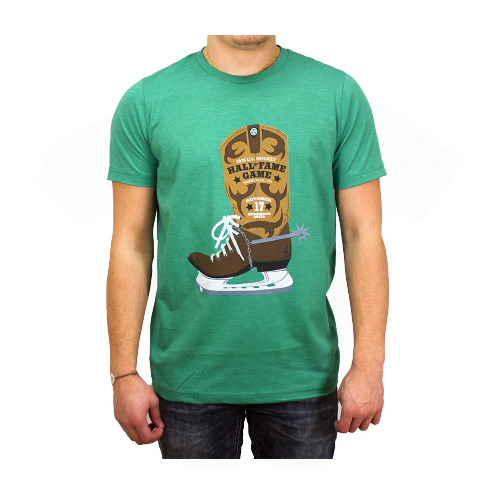 HALL OF FAME GAME 2020 BOOT SKATE TEE