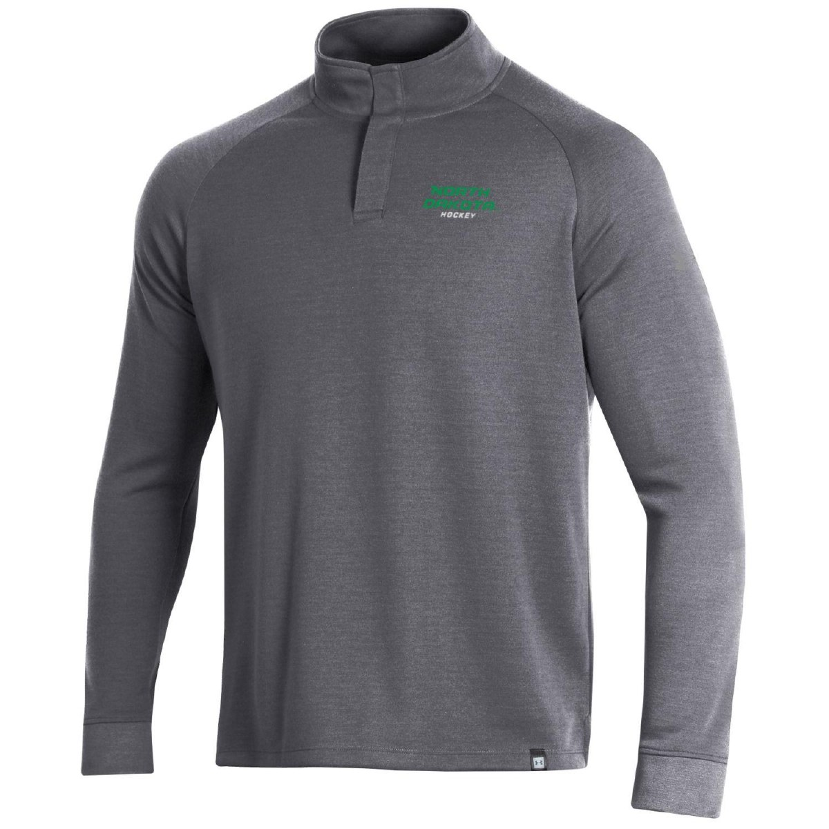 UNIVERSITY OF NORTH DAKOTA HOCKEY DOUBLE KNIT SNAP PULLOVER