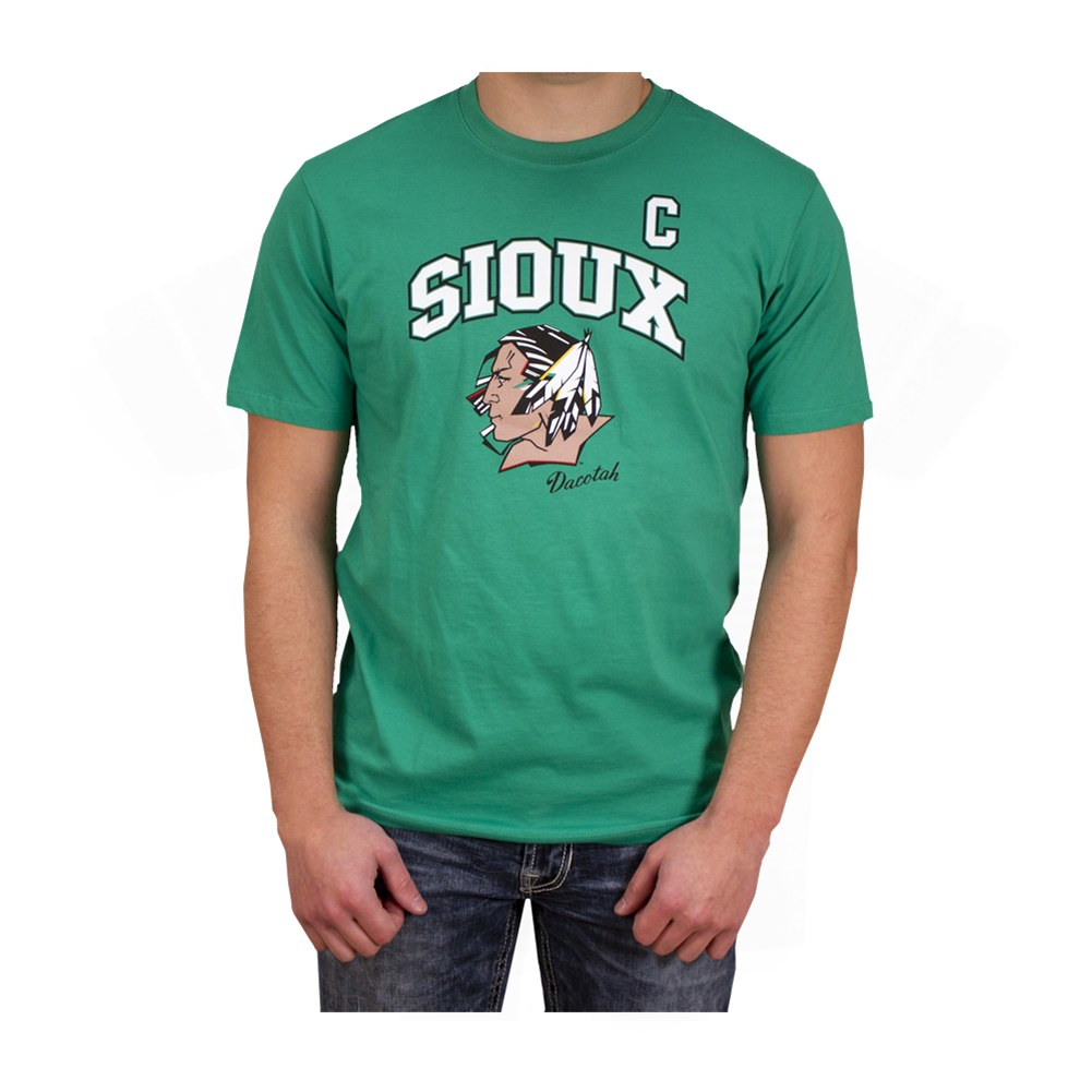 UNIVERSITY OF NORTH DAKOTA FIGHTING SIOUX RYAN DUNCAN ALUMNI PLAYER TEE