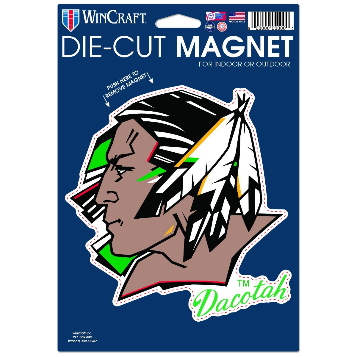 UNIVERSITY OF NORTH DAKOTA FIGHTING SIOUX MAGNET