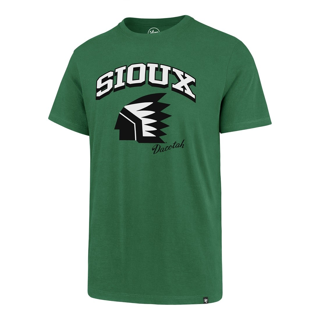 UNIVERSITY OF NORTH DAKOTA FIGHTING SIOUX MIKE COMMODORE ALUMNI PLAYER TEE