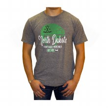 NORTH DAKOTA HOCKEY CCM HELMET TEE