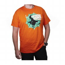 UNIVERSITY OF NORTH DAKOTA HOCKEY UNFINISHED BUSINESS SERIES FOUR HAPPY HOLLOWEEN TEE
