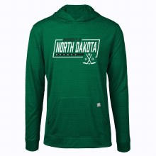 UNIVERSITY OF NORTH DAKOTA HOCKEY ANCHOR HOODED LONG SLEEVE TEE