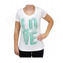 UNIVERSITY OF NORTH DAKOTA LADIES LOVE TEE