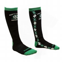 UNIVERSITY OF NORTH DAKOTA HOCKEY REEBOK LADIES KNEE HIGH SOCK