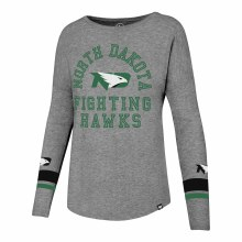 UNIVERSITY OF NORTH DAKOTA FIGHTING HAWKS ENCORE LONG SLEEVE TEE