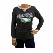 "UNIVERSITY OF NORTH DAKOTA FIGHTING HAWKS ""YOU'LL BE BACK"" TUNIC"