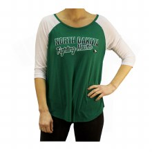 UNIVERSITY OF NORTH DAKOTA FIGHTING HAWKS DRAW A CROWD TEE