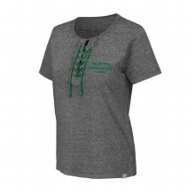 UNIVERSITY OF NORTH DAKOTA HOCKEY WOMENS NAPLES LACE TEE
