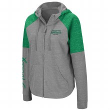 NORTH DAKOTA HOCKEY RITA RAGLAN ZIP FLEECE