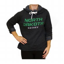 UNIVERSITY OF NORTH DAKOTA HOCKEY LESLIE HOODED PULLOVER