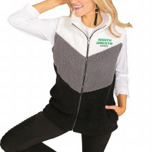UNIVERSITY OF NORTH DAKOTA HOCKEY RETRO POPCORN FLEECE VEST