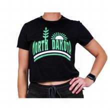 NORTH DAKOTA HOMEGROWN CROP TOP TEE