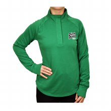 UNIVERSITY OF NORTH DAKOTA HOCKEY LADIES DOUBLE KNIT 1/4 SNAP
