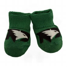 UNIVERSITY OF NORTH DAKOTA FIGHTING HAWKS NEWBORN BOOTIES