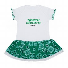 UNIVERSITY OF NORTH DAKOTA HOCKEY BANDANA BODYSUIT