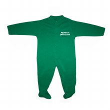 UNIVERSITY OF NORTH DAKOTA HOCKEY FOOTED ROMPER