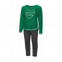 UNIVERSITY OF NORTH DAKOTA GIRLS TODDLER 2PC ICE SET