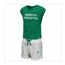 UNIVERSITY OF NORTH DAKOTA HOCKEY TODDLER GIRLS ESSEN SET