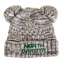 UNIVERSITY OF NORTH DAKOTA HOCKEY GIRLS KNIT POM DUEL