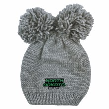 UNIVERSITY OF NORTH DAKOTA YOUTH REY DOUBLE POM KNIT