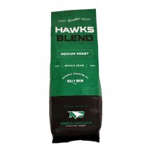 NORTH DAKOTA FIGHTING HAWKS BLEND BY BULLY BREW - WHOLE BEAN