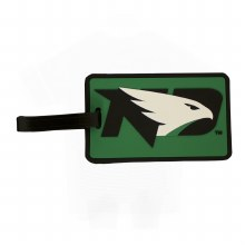 UNIVERSITY OF NORTH DAKOTA SOFT LASER CUT LUGGAGE TAG