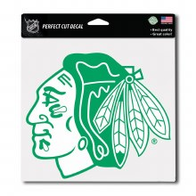 HAWKS GREEN DECAL