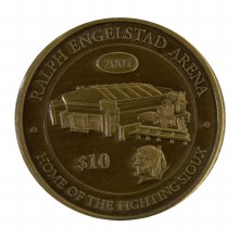 REA GOLD COLLECTOR COIN 2001