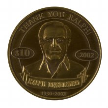 REA GOLD COLLECTOR COIN 2002