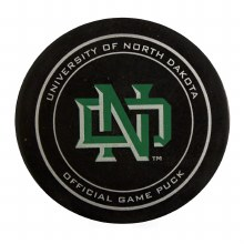 UNIVERSITY OF NORTH DAKOTA MENS HOCKEY OFFICIAL GAME PUCK 2016/17
