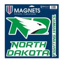 UNIVERSITY OF NORTH DAKOTA FIGHTING HAWKS 3-PACK MAGNET SET