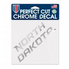 NORTH DAKOTA WORDMARK CHROME DECAL