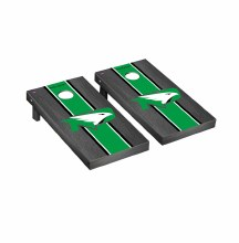 UNIVERSITY OF NORTH DAKOTA CORNHOLE GAME SET - ONYX STRIPE VERSION