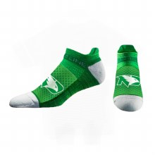 UNIVERSITY OF NORTH DAKOTA STRIDELINE FIGHTING HAWKS NO-SHOW SOCK