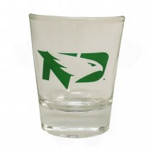 1.5OZ UNIVERSITY OF NORTH DAKOTA FIGHTING HAWKS COLLECTOR GLASS