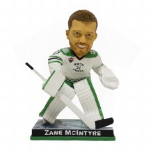 ZANE MCINTYRE UNIVERSITY OF NORTH DAKOTA HOCKEY BOBBLE HEAD