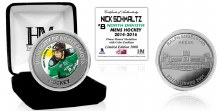 UNIVERSITY OF NORTH DAKOTA HOCKEY ALUMNI COLLECTOR COIN - NICK SCHMALTZ