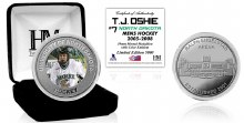 UNIVERSITY OF NORTH DAKOTA HOCKEY ALUMNI COLLECTOR COIN - T.J. OSHIE