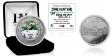 UNIVERSITY OF NORTH DAKOTA HOCKEY ALUMNI COLLECTOR COIN - ZANE MCINTYRE