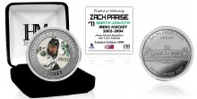 UNIVERSITY OF NORTH DAKOTA HOCKEY ALUMNI COLLECTOR COIN - ZACH PARISE