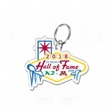 2018 HALL OF FAME GAME KEYRING