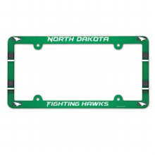 UNIVERSITY OF NORTH DAKOTA FIGHTING HAWKS LICENSE PLATE FRAME