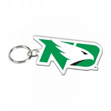 UNIVERSITY OF NORTH DAKOTA FIGHTING HAWKS ACRYLIC KEY RING